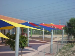 A look at the various ways shade sail structures can be used.
