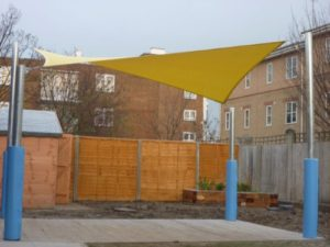 Shade sails aren't just for summer