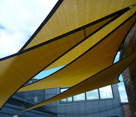 3m X 4m X 5m Right Angle Shade Sail Sail Shade World Shaded Nation