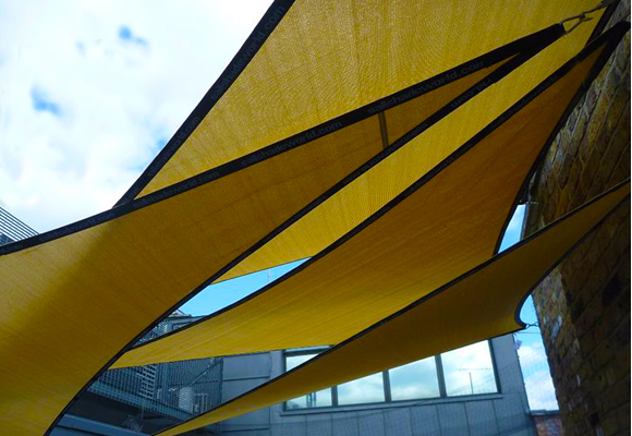 Triangle Garden Shade Sails