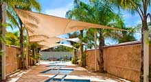 3.6m x 3.6m Square Shade Sail Canopy