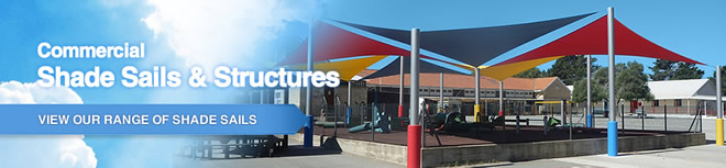 Shade Sail Store Welcome Banner