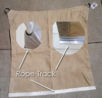 Ropetrack Shade Sails Despatched In 7 Days Shaded Nation